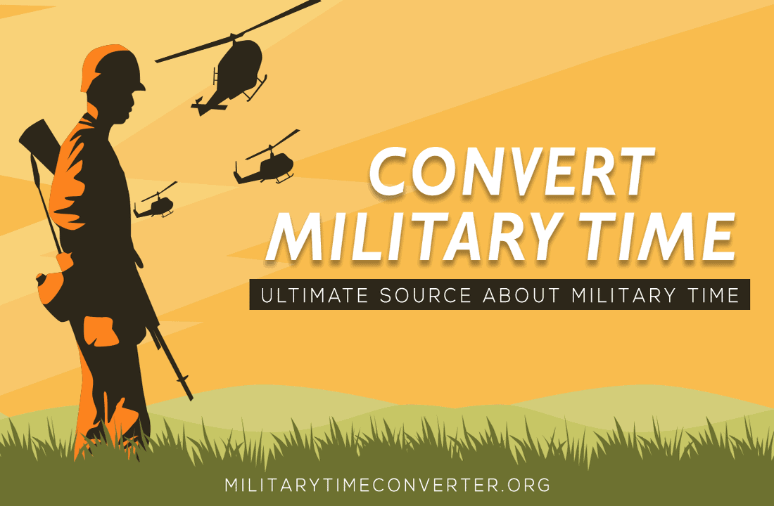 Military Time Chart: Easy and Quick Way to Convert Military Time