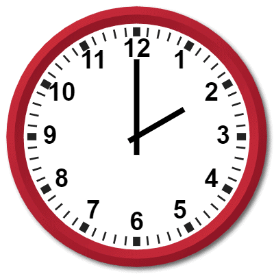 0200 Hours Military Time on the Analog Clock