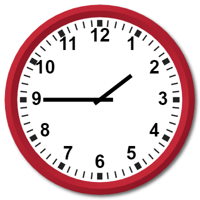 0145 Hours Military Time on the Analog Clock