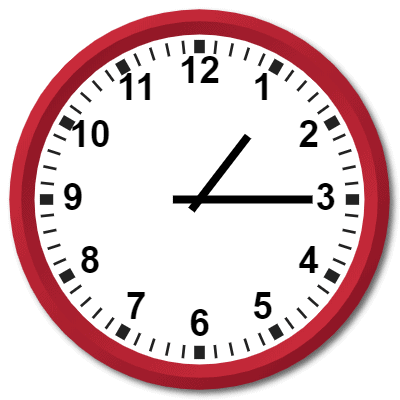 1315 Hours Military Time on the Analog Clock