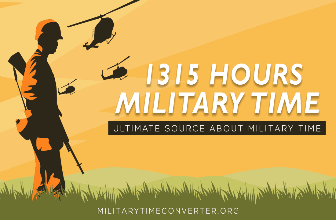 1315 hours military time conversion