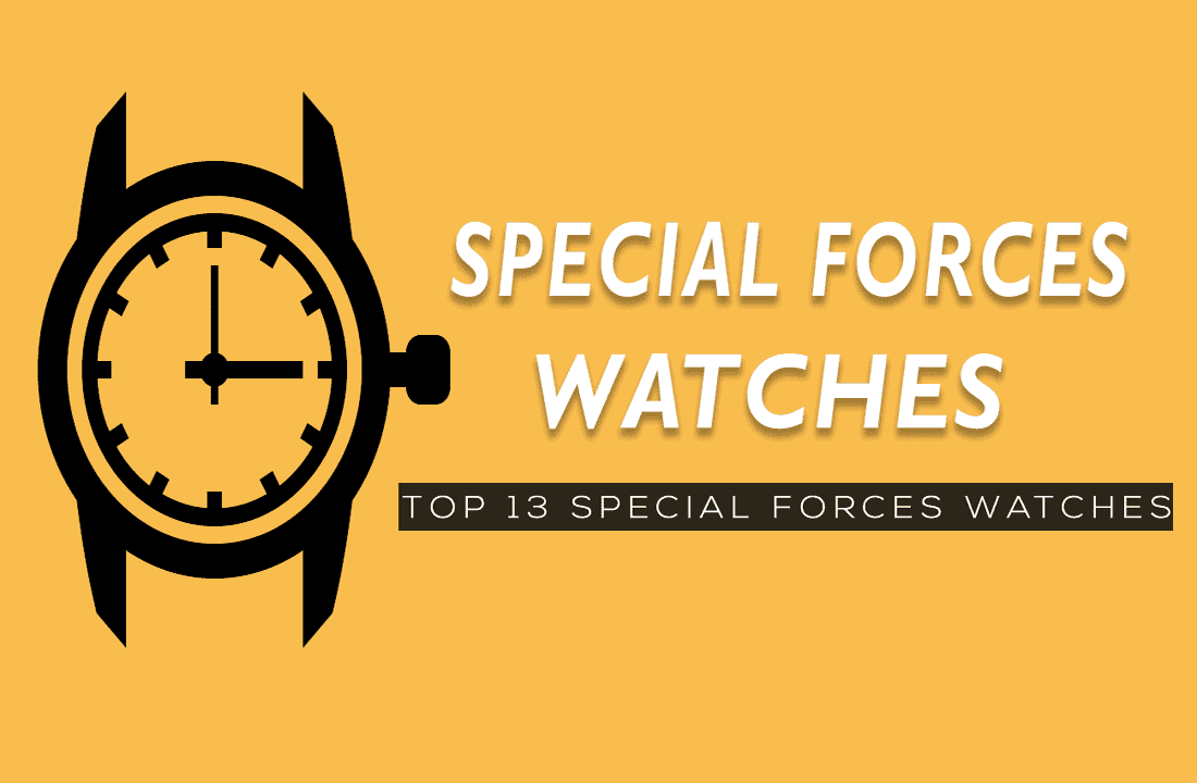 Watches worn by special forces