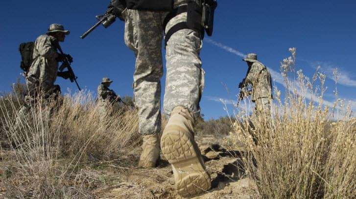 Can You Join The Military With Flat Feet